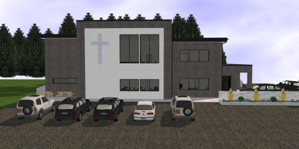 Støtte til byggeprosjektet